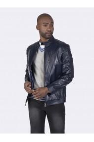 Jacheta din piele Giorgio di Mare GI1707462 Bleumarin