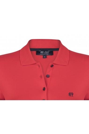 Tricou Polo FELIX HARDY FE3264032 Rosu
