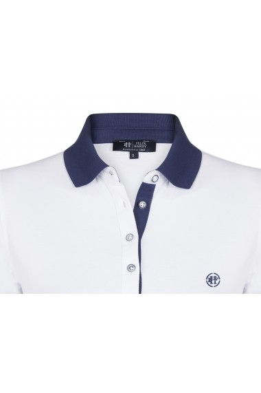 Tricou Polo FELIX HARDY FE2915307 Alb