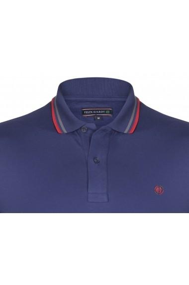 Tricou Polo FELIX HARDY FE5706592 Bleumarin