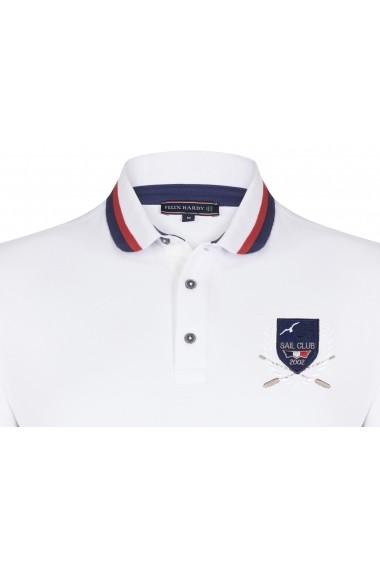 Tricou Polo FELIX HARDY FE2600812 Alb