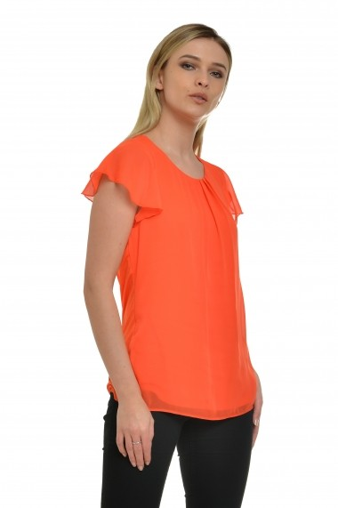 Bluza Cesy Fashion CSF 227 portocaliu