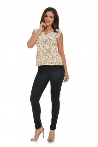 Bluza Cesy Fashion CSF 242 Alb