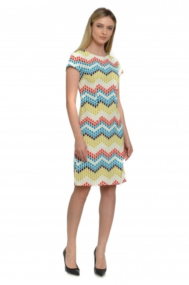 Rochie Cesy Fashion CSF 233 Multicolor
