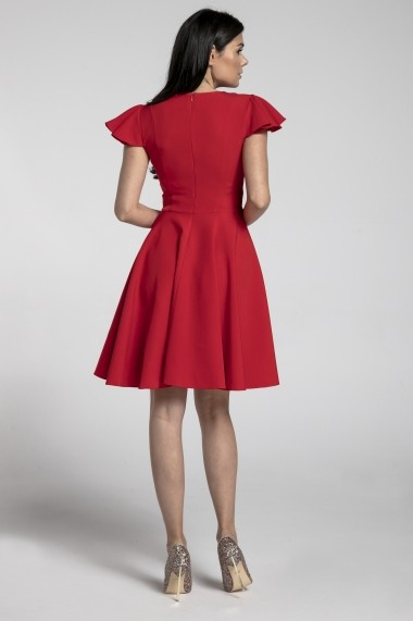 Rochie NAOKO GLB-AT179 RED Rosu