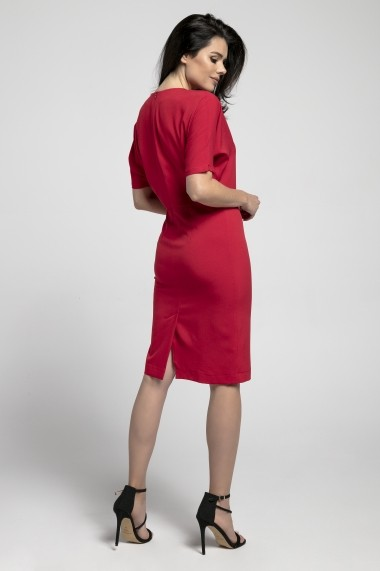Rochie NAOKO GLB-AT190 RED Rosu