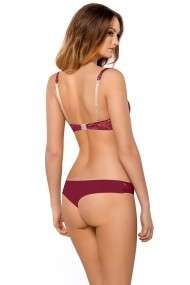 Sutien Push-Up Kinga PU-546 Bordo
