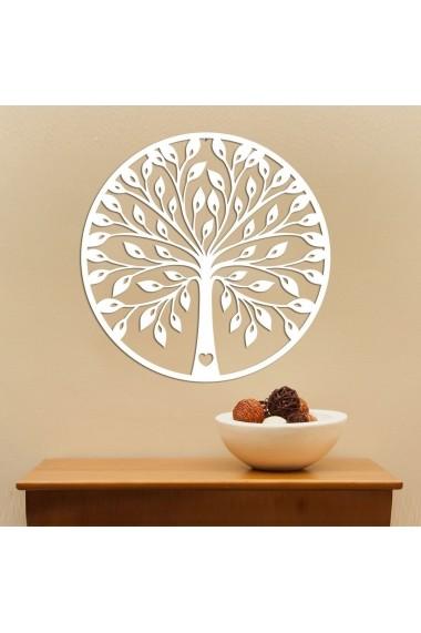 Obiect decorativ de perete Evila Originals ASR-797EVL1773 Alb