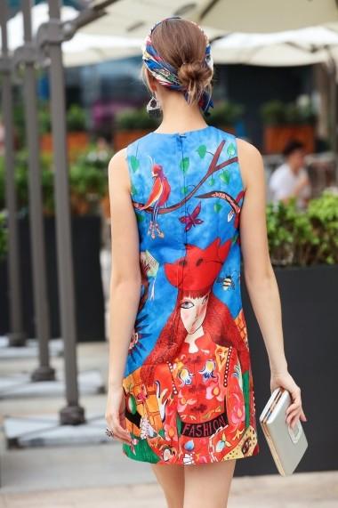 Rochie Burryco B18039 Multicolor