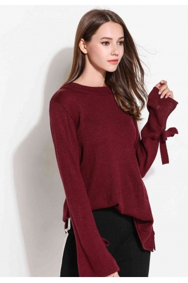 Pulover Caifeng ZJ031 bordo