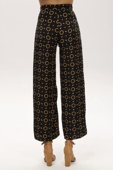 Pantaloni largi NEW LAVIVA 650-2280 B628 Negri