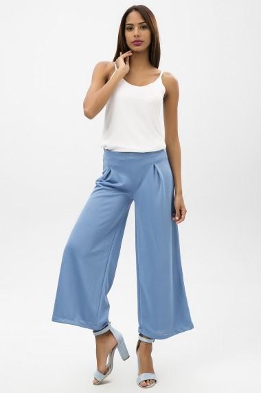 Pantaloni largi NEW LAVIVA 650-2315 008 Albastri