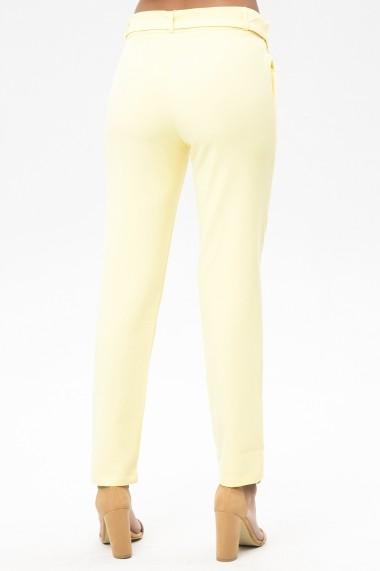 Pantaloni drepti NEW LAVIVA 650-2093 017 Galbeni