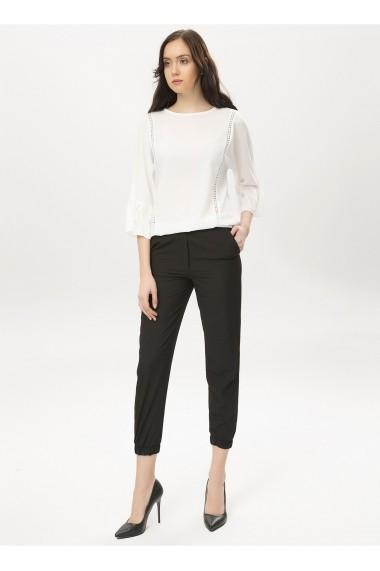 Pantaloni drepti NEW LAVIVA 650-2160-1 001 Negri