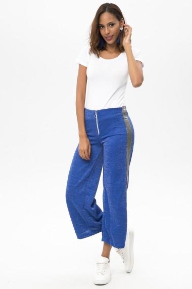 Pantaloni PALMETTO PARIS 650-2338 217 Albastru