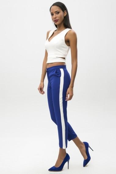Pantaloni PALMETTO PARIS 650-2209 BM27 Albastru