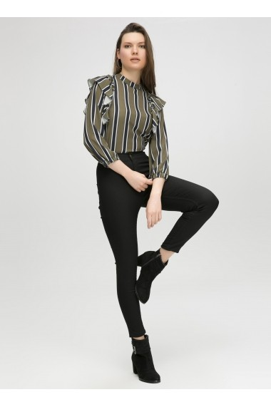 Pantaloni BOHO VESPER 639-528-2002-01 001 Negru