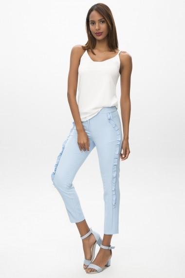 Pantaloni BOHO VESPER 650-2095-1 N19 Bleu
