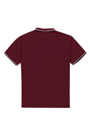 Tricou Polo Pierre Cardin 54015209 Bordo