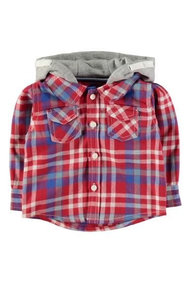Set hanorac, tricou si pantaloni Crafted 56005608 Rosu