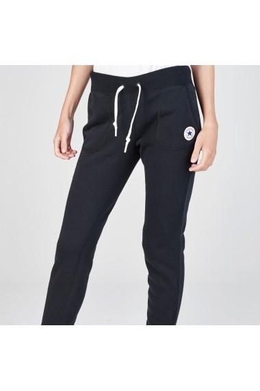Pantaloni sport Converse 67109403 Negru