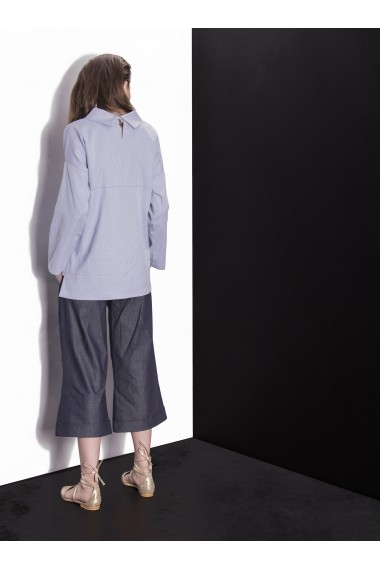 Pantaloni Culottes Couture de Marie din denim