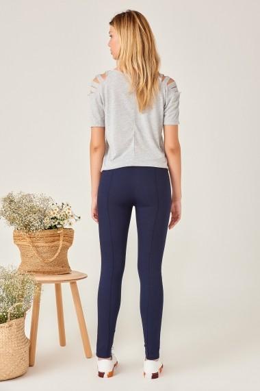 Pantaloni skinny Boutiquen 10057 Bleumarin