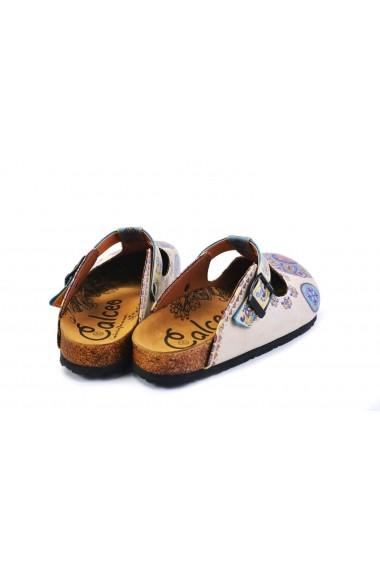 Papuci CALCEO CAL1503 Multicolor