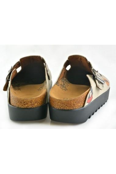 Papuci CALCEO CAL703 Multicolor