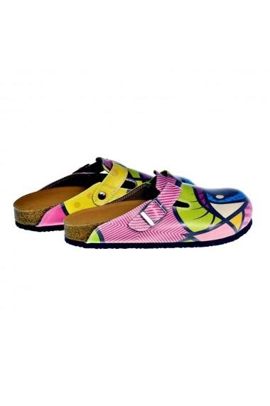 Papuci CALCEO CAL318 Multicolor