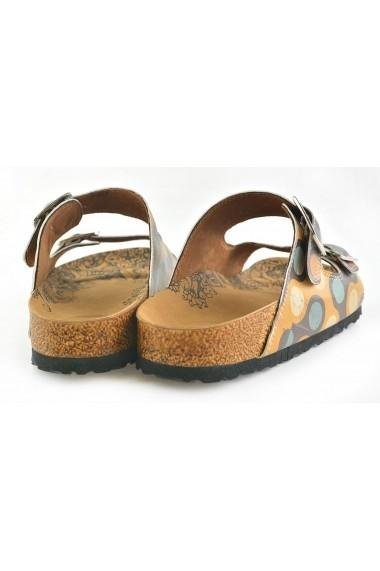 Papuci CALCEO CAL201 Multicolor