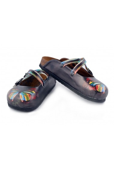 Papuci CALCEO WCAL158 Multicolor