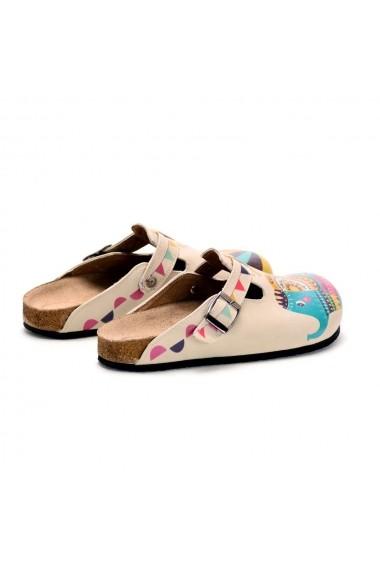 Papuci CALCEO CAL301 Multicolor