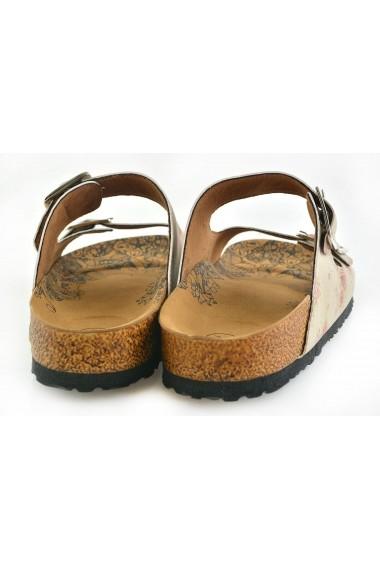 Papuci CALCEO CAL209 Multicolor