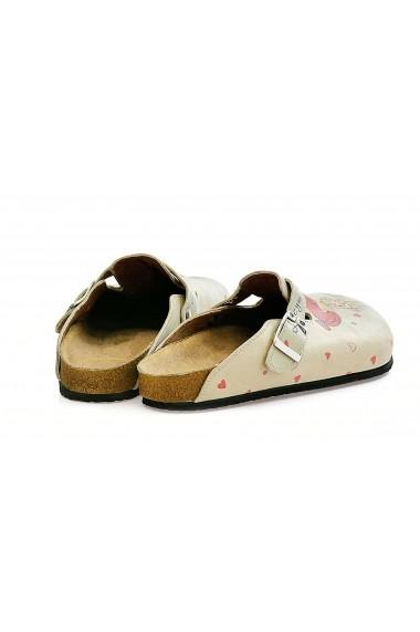 Papuci CALCEO CAL307 Multicolor