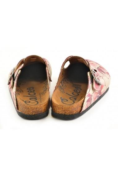 Papuci CALCEO CAL348 Multicolor