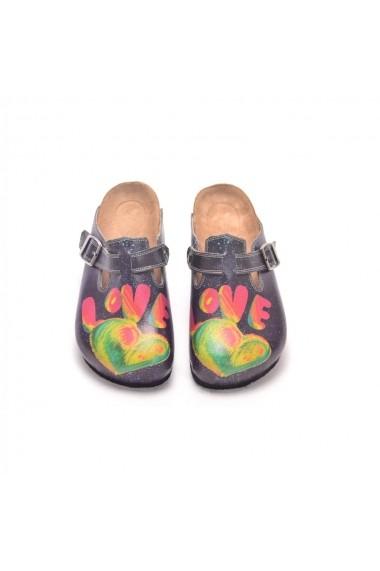 Papuci CALCEO CAL303 Multicolor
