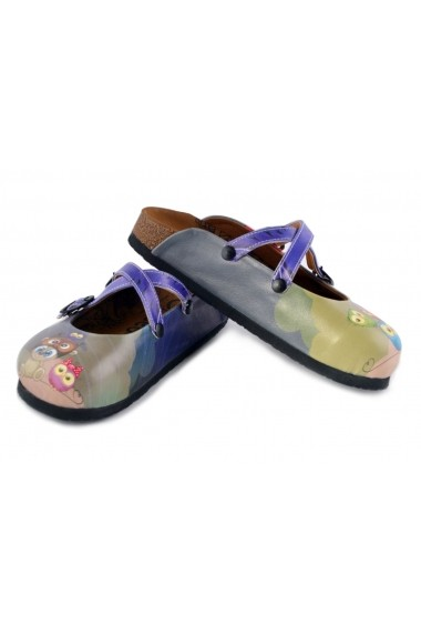Papuci CALCEO WCAL155 Multicolor