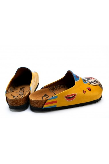 Papuci CALCEO CAL1412 Multicolor