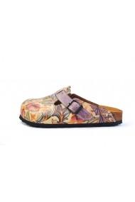 Papuci CALCEO CAL371 Multicolor