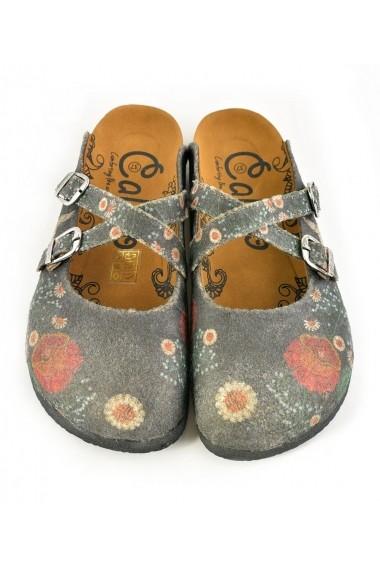 Papuci CALCEO CAL1201 Multicolor