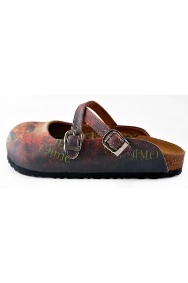 Papuci CALCEO CAL121 Multicolor