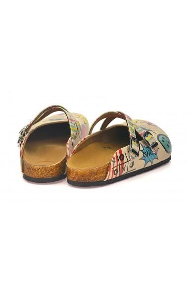 Papuci CALCEO CAL118 Multicolor