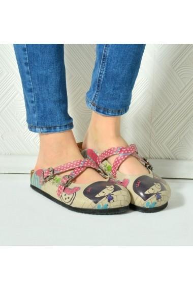 Papuci CALCEO CAL105 Multicolor