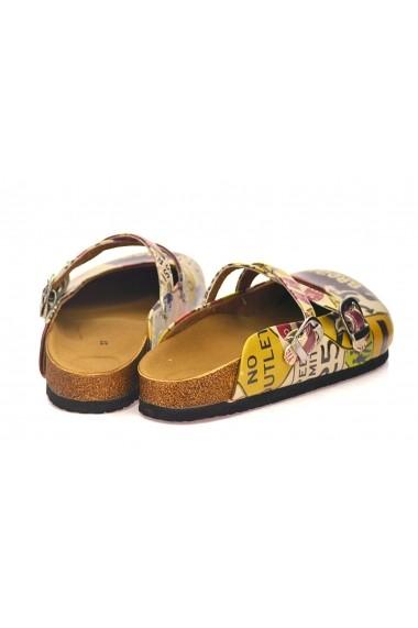 Papuci CALCEO CAL107 Multicolor