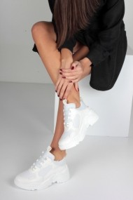 Pantofi sport Inan Ayakkabi INAY5635BCF alb