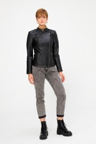 Jacheta din piele Deri Company BD00661 Neagra
