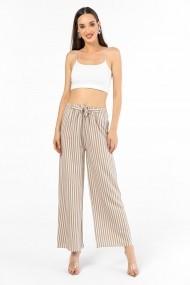 Pantaloni By Saygi S-20Y1010049 bej