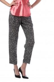 Pantaloni trei sferturi Girogal vascoza Fellow negri
