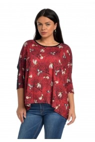 Bluza Eranthe Birdie VE123 Bordo